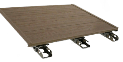 Solid Vinyl Decking Panel