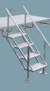 Dock Ladders & Steps - Michigan Lake Products