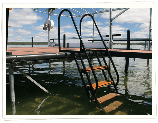 Dock Ladders Amp Steps Michigan Lake Products