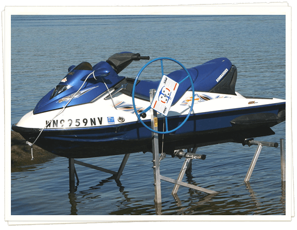 RGC 1200# Personal Watercraft Single Lift