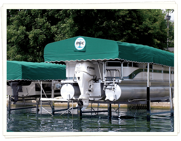 RGC 5000# Vertical Pontoon Lift