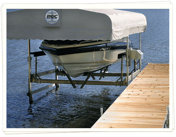 Boat Lifts - Michigan Lake Products
